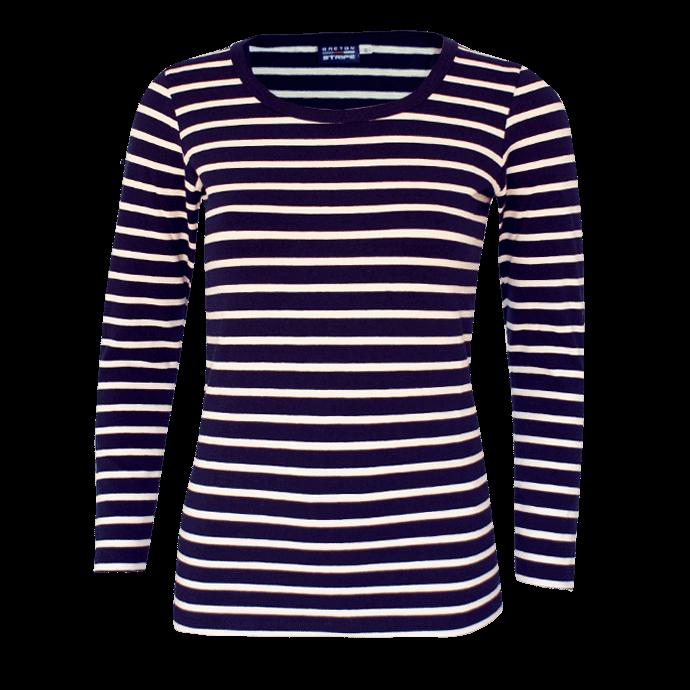 BretonStripe-LadyShirt-long-sleeves-01-navy-natural