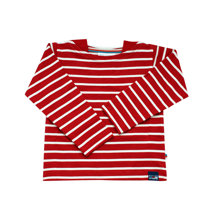 BretonStripe-classic-shirt-baby-children-3-bordeaux-natural