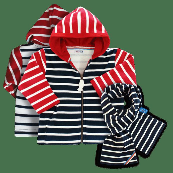 BretonStripe-Kids-Combi-hoody-123-navy-bordeaux-natural-Scarf-01