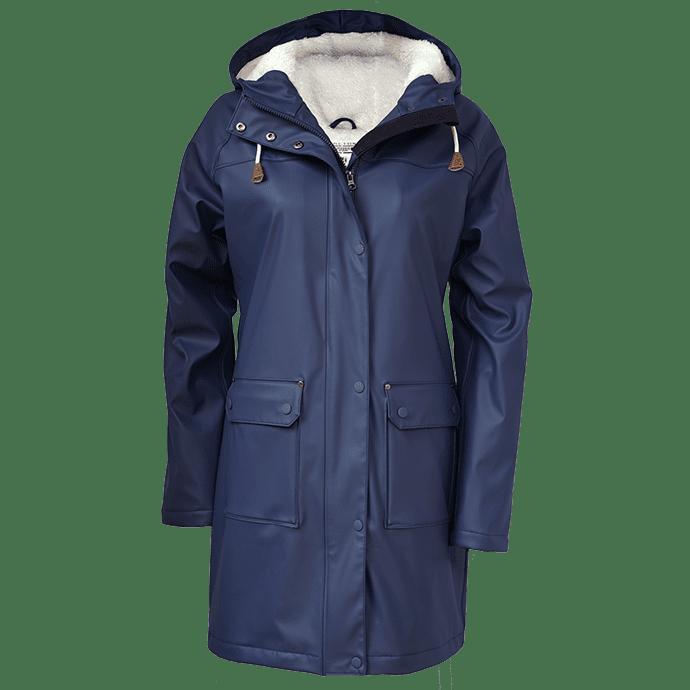 BretonStripe Raincoat 60 Navy
