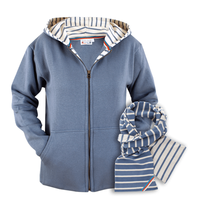 BretonStripe-Combi-hoody-70-two-color-jeans-natural-Scarf-117