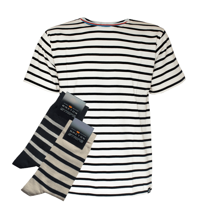 BretonStripe-Tshirt-sock-combi-2-natural-navy